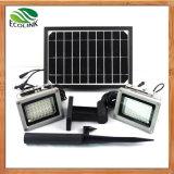 Solar Power Dual Outdoor LED Floodlight for Garden