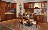Hot Sale China Manufacturer Solid Wood Kitchen Cabinet (zs-285)