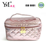 Shinny Quilted PU Cosmetic Bag for Lady (B02250 (14))