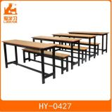Double Chair and Table of School Furniture for Sale