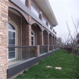 Clear Toughened/Float/Tempered Laminated Glass for Fence/Building