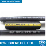 Steel Wire Helix Rubber Hydraulic Hose SAE 100 R4 Pipe