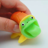 Anti Stress Squeeze Rubber Turtle Toy with Popping Tongue