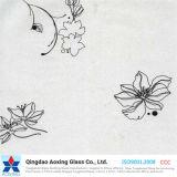 4mm Silkscreen Print Toughened Glass for Building/Construction
