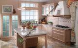Quartz Top and Classicial PVC Kitchen Cabinet (zs-488)
