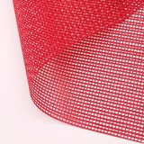 Polyester PVC Coated Mesh Fabric Color Mesh Fabric