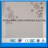 4-12mm Decorative Painted Glass