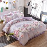 Import From China Factory Direct Printed Microfiber Comforter Cover Set