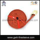Synthetic Hydraulic Fluid Fire Sleeve
