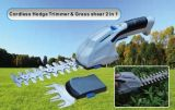 2 in 1 Cordless Automatic Hedge Trimmer & Shear, Electric Hedge Trimmer