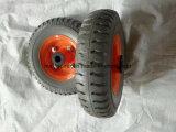 China 250-4 PU Foam Wheelbarrow Wheel