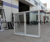 Aluminum Chain Winder Awning Window Double Glazing with Flyscreen