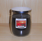 High Quality Home Decor Glass Candle