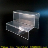 Two Layer Custom Acrylic / Plexiglass Shoes Display Stand