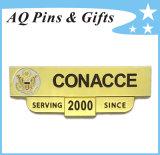 Professional Manufacturer Metal Souvenir Gold Bar Range Pin Badge (badge-132)