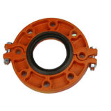 """UL Listed, FM Approved Grooved Flange Adapter 2-1/2"""""""
