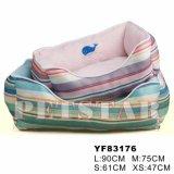 Stripe Cheap Pet Bed for Dogs, Dog Beds Manufacturer (YF83176)