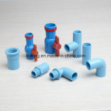 Thailand Standard Plastic UPVC Pipe Fittings in Blue Colour