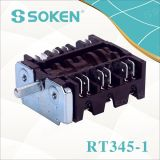 Key Oven Parts for 4 Position Rotary Switch T150 TUV