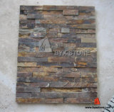 Natural Rusty Yellow Slate for Wall Cladding Decoration