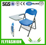 High Quality Plastic Foldable Training Chair with Writing Pad (SF-38F)