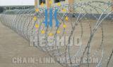 High Tensile Galvanized Crossed Razor Wire Fencing
