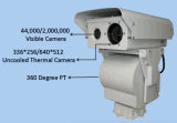 Long Range Thermal and Visible Camera for Seafarm Zone