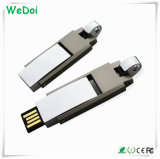 Low Cost Metal USB Flash Disk with 1 Year Warranty (WY-M28)