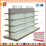 Double Sided Store Rack Supermarket Display Shelving Wall Shelf (Zhs12)