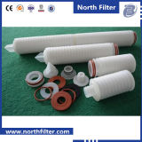PTFE Pleated 0.02 Micron Cartridge Water Filter Elements