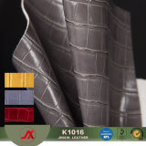 Aging Treatment Alligator Skin Leather Embossed Leather Crocodile Imitation Leather