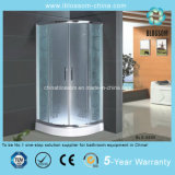 Acid Glass Flower Simple Shower Cabin/Room with CE (BLS-9505)