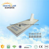 Powerful Integrated Solar Light for Country Road with Round Holder (HXXY-ISSL-100)