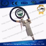 60mm 1MPa Gray Digital Tire Air Pressure Gauge