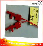 50W Silicone Rubber Heater for Metal Pipe 12V 33.3*90*1.5mm