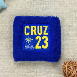 Professional Supplier Embroidery Logo Cotton Sports Sweatband