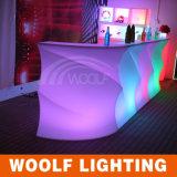 Colors Changing Nightclub LED Lighting Bar Counter