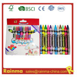 Quality and Social Audited Color Wax Crayons 12 PCS