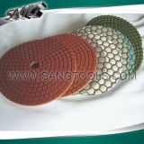 Wet and Dry Diamond Polishing Pads for Stone Processing (SG-092)