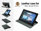 360 Degree Rotary Leather Case for DELL Tablet