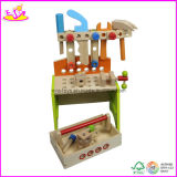 Wooden DIY Tool Toy Bench for Kids with Accessories (W03D030)