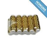 Over 500 Partner Factories Dyed M Type Metallic Yarn 50m Golden (1008-6001)