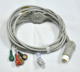 Philips ECG Cable with Clip/Snap Type