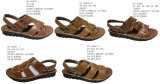 No. 50058 Three Styles Men′s Sandal Stock Shoes