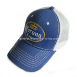 Cotton Front Mesh Hat with Logo Embroidery