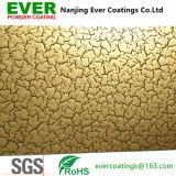 Cracking Gold Powder Coating Powder Paint