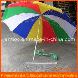 Digital Printed Colorful Rainbow Custom Umbrella