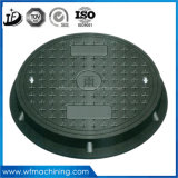 En124 C250 Ductile Iron Floor Drain Covers/Manhole Weight/Manhole Cast Iron/Sewer Plate Cover/Custom Drain Covers/Cover Drain Sand Casting for Road