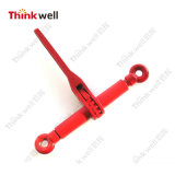 Red Painting Forged Steel Ratcheting Load Binder Without Hooks