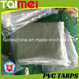 Orange/Green PVC Waterproof Tarpaulin/Tarps for Truck/Car/Boat Cover